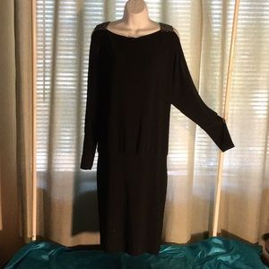 Women's dressy black dress NWT